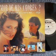 Discos de vinilo: RITMO DE LA NOCHE. AMOR DE MIS AMORES VOL. 2 - AÑO 1990. Lote 183922005