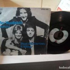 Discos de vinilo: PAUL MCCARTNEY & WINGS – MRS. VANDEBILT / BLUEBIRD. Lote 183922903