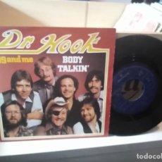 Discos de vinilo: DR. HOOK – BODY TALKING. Lote 183924901