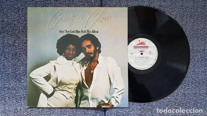 CRUZ & COLON - ONLY THEY GOULD HAVE MADE THIS ALBUM. EDITADO POR MANZANA. AÑO. AÑO 1977 (Música - Discos - LP Vinilo - Grupos y Solistas de latinoamérica)