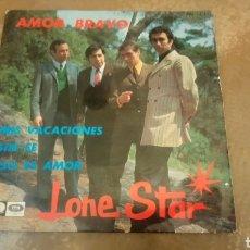 Discos de vinilo: LONE STAR - AMOR BRAVO / MIS VACACIONES / SIN FE. EP 1967.. Lote 183933105
