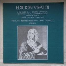 Discos de vinilo: ANTON VIVALDI,,,ESTUCHE CON 9 LPS DE ESTE GRAN COMPOSITOR,,,1978. Lote 183937241