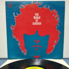 Discos de vinilo: DONOVAN - THE WORLD OF DONOVAN 1969 ED UK. Lote 183941973