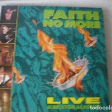 Discos de vinilo: FAITH NO MORE LIVE AT THE BRIXTON ACADEMY . Lote 183946741