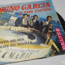 Discos de vinilo: SINGLE - VINILO - DIGNO GARCIA – COSTA BRAVA. Lote 183947453