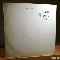 Discos de vinilo: CENTRAL LINE - WOT WE GOT VINILO 12 MAXI 45 RPM WHITE LABEL SINGLE SIDED 1979 UK MERCURY VG/-. Lote 183951315