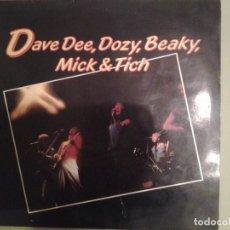 Discos de vinilo: DAVE DEE, DOZY, BEAKY, MICK & TICH EDICCION UK.RARO DE ENCONTRAR. Lote 183952897