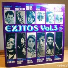 Discos de vinilo: VARIOS ARTISTAS - EXITOS VOL. 3 LP VINILO RECOPILATORIO 1973 ESPAÑA PROMO CARNABY VG/VG+. Lote 183953463