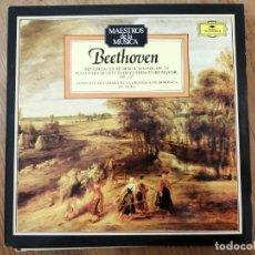 Discos de vinilo: BEETHOVEN. SEPTIMO EN MI BEMOL MAYOR, OP,20. Lote 183955868