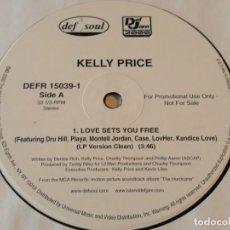Discos de vinilo: KELLY PRICE - LOVE SETS YOU FREE - 2000. Lote 183959742