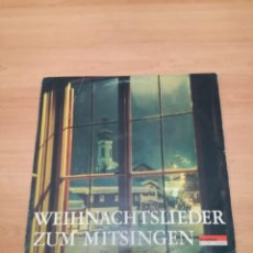 Discos de vinilo: WEIHNACHTSLIEDER ZUM MITSINGEN. Lote 183964727
