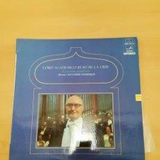 Discos de vinilo: CORO ACADÉMICO RUSO DE LA URSS. Lote 183964842