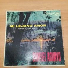 Discos de vinilo: SAMUEL AGUAYO MI LEJANO AMOR. Lote 183965090