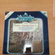 Discos de vinilo: PEPITA JIMÉNEZ PARTE 2. Lote 183965122