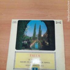 Discos de vinilo: FALLA. Lote 183965136