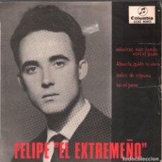 Discos de vinilo: FELIPE EL EXTREMEÑO - MIENTRAS MAS HONDO ESTA EL POZO - EP DE 1964 RF-4187 . Lote 183975177
