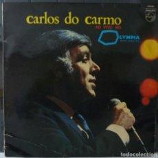 Discos de vinilo: CARLOS DO CARMO // AO VIVE NO OLYMPIA //1980 //MADE PORTUGAL //(VG VG). LP. Lote 183977005