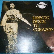 Discos de vinilo: TAVARES-DIRECTO DESDE TU CORAZON + LET ME HEAL THE BRUISES. Lote 183978737