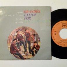 Discos de vinilo: EP - LOS TEEN TOPS - POPOTITOS + ROCK DE LA CÁRCEL + LA PLAGA + REY CRIOLLO (CBS, 1963). Lote 183888145