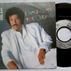 Discos de vinilo: LIONEL RICHIE - DANCING ON THE CEILING / LOVE WILL FIND - SINGLE ALEMAN 1986 - MOTOWN. Lote 183989535