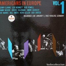 Discos de vinilo: AMERICANS IN EUROPE, VOL.1 -LP 1966 EDICION ESPAÑOLA DE ESTE DIRECTO DE IMPULSE RECORDS. Lote 183990933