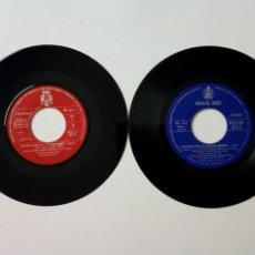 Discos de vinilo: (LEER) 2 SINGLE: MIGUEL RIOS - DA DOU RON RON + CANCIÓN PARA UN NUEVO MUNDO (1970-73) RELÁMPAGOS. Lote 210545066