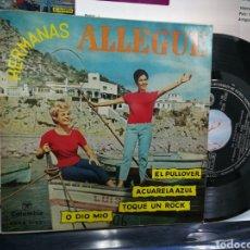 Discos de vinilo: HERMANAS ALLEGUE EP EL PULLOVER + 3 1961. Lote 183997973