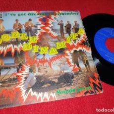 Discos de vinilo: DOBLE DINAMITA I'VE GOT DREAMS TO REMEMBER/MUNDO JOVEN 7 SINGLE 1969 EMI REGAL. Lote 183999560