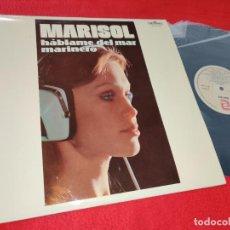 Discos de vinilo: MARISOL HABLAME DEL MAR MARINERO LP 1983 ZAFIRO/IMPERIAL COMO NUEVO. Lote 184003435
