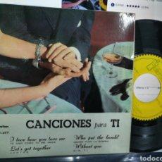 Discos de vinilo: CANCIONES PARA TI EP SHERRY BLAKE,DEBBY PETERS,JEFF MILLS,KIT FLEMING ESPAÑA 1961. Lote 184004606