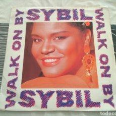 Discos de vinilo: SYBIL - WALK ON BY. Lote 184006182