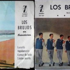 Discos de vinilo: 2 EP LOS BRUJOS - QUISIERA +3 / LAZARILLO + 3. Lote 184007130