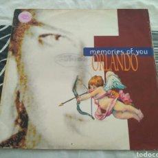 Discos de vinilo: ORLANDO - MEMORIES OF YOU. Lote 184007420