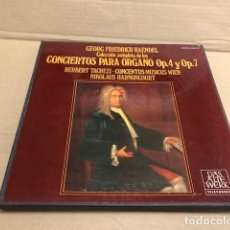 Dischi in vinile: LP GEORG FRIEDRICH HAENDEL. COLECCION COMPLETA DE LOS CONCIERTOS PARA ORGANO OP 4 Y OP 7 TELEFUNKEN. Lote 184007751