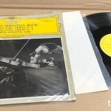 Dischi in vinile: LP JOHANN SEBASTIAN BACH. SONATA PARA VIOLIN Nº 1. DEUTSCHE GRAMMOPHON. Lote 184008642