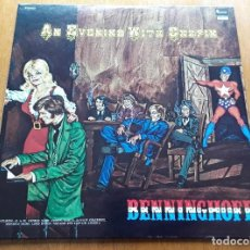 Discos de vinilo: BENNINGHOFF AN EVENING WITH CHOPIN (PLANTATION PLP-502 - USA 1976) CLASSICAL/PSYCH ROCK ORIG LP. Lote 184008805