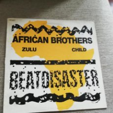 Discos de vinilo: AFRICAN BROTHERS-ZULÚ CHILD. MAXI. Lote 184009191