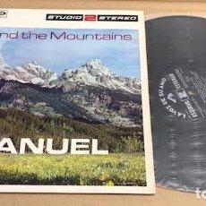 Discos de vinilo: LP MANUEL. BEYOND THE MOUNTAINS. EMI. 1968. Lote 184009205