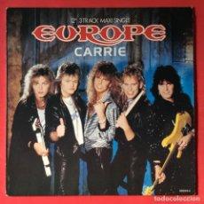 Discos de vinilo: EUROPE – CARRIE. Lote 184009950