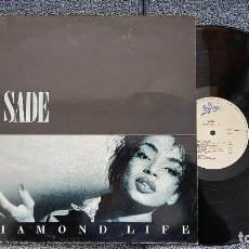 Discos de vinilo: SADE - DIAMOND LIFE. AÑO 1984. EDITADO POR CBS. CONTIENE LETRAS DE LAS CANCIONES.. Lote 184015645