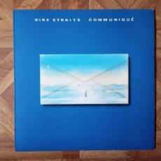 Discos de vinilo: DIRE STRAITS - COMMUNIQUÉ - LP SPAIN 1991 - CARPETA VG+ VINILO VG+. Lote 184017957