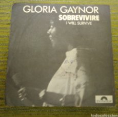 Discos de vinilo: GLORIA GAYNOR - I WILL SURVIVE ( SOBREVIVIRÉ). Lote 184019117