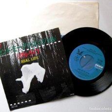 Discos de vinilo: REAL LIFE - SEND ME AN ANGEL - SINGLE CURB RECORDS 1984 JAPAN PROMO (EDICIÓN JAPONESA) BPY. Lote 184020675
