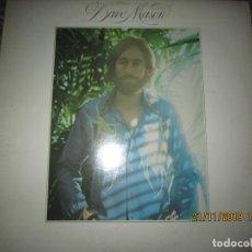 Discos de vinilo: DAVE MASON - DAVE MASON LP - ORIGINAL U.S.A. - COLUMBIA 1974 CON FUNDA INT. ORIGINAL. Lote 184021837