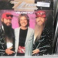 Discos de vinilo: ZZ TOP - VELCRO FLY (SG) 1986 PROMO!!!!!. Lote 184022025