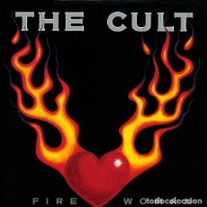 Discos de vinilo: THE CULT - FIRE WOMAN. Lote 184025087