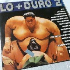 Discos de vinilo: LO + DURO 2 (2 LP.). Lote 184029316