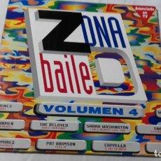 Discos de vinilo: ZONA BAILE VOLUMEN 4, 2 LP. 1993 . Lote 184030586