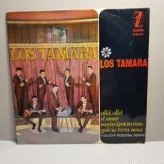 Discos de vinilo: LOS TAMARA -ZAFIRO - SINGLE. Lote 184030975