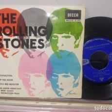 Discos de vinilo: EP THE ROLLING STONES SATISFACTION 1965. Lote 184031455